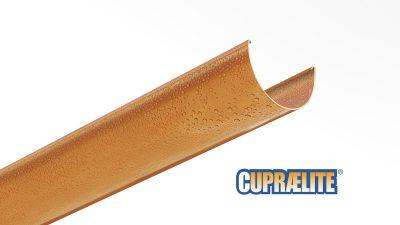 Canalones CUPRAELITE 100 efecto cobre