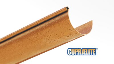 Canalones CUPRAELITE 133 efecto cobre