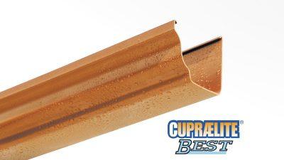 Canalones CUPRAELITE BEST efecto cobre