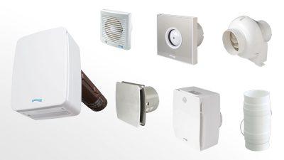 Extractores y ventiladores