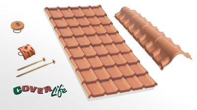 Cubierta sandwich Cover-Life - Tegola Isolife