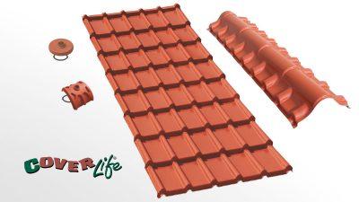 Cubiertas residenciales Cover-Life - Tegola