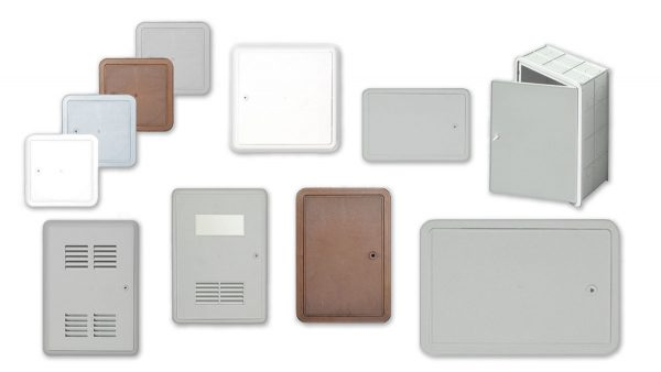 Puertas y cajas de inspección en ABS
